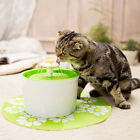 1.6L Pet Electric Automatic Drinking Bowl Water Storage Fountain Feeder W Filter