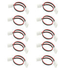 10Pcs 3 Pin LED Connector Cable Adapter For WS2811 WS2812B RGB LED Strip 10mm