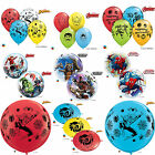 MARVEL SPIDERMAN & AVENGERS Qualatex Latex & Bolle Palloncini (Compleanno/Festa)