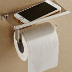 Paper Phone Holder Bathroom Towel Rack Toilet Paper Holder Stainless Steel