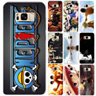 ONE-PIECE Anime Logo Luffy Ace Phone Case Cover For Samsung Galaxy S5 S6/7E S8+