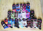 LADIES HOT SOX Size 9-11 Socks Food Travel Birthday Hobby Designs You Choose