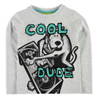 SCOOBY DOO:COOL DUDE LONG SLEEVE TOP,3/4,4/5,5/6,7/8,NEW WITH TAGS