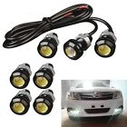 Car Motorcycle 10w Led Eagle Eye Daytime Running Drl Tail Light Backup Lamp 12v
