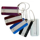 5Pcs Aluminum Alloy Luggage Box Tag Service Travel Business Trip Label 80 * 40mm