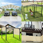 19' FT Waterproof Straight Side Hemmed Sun Shade Sail Canopy Awning Patio Cover