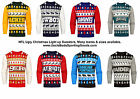 NFL Mens Light Up Ugly Christmas Sweater