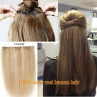 """One Piece Extensions Long Thick Clip In 100% Human Hair Extensions 24"""" 100G"""