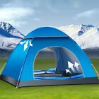 3-4 Person Family Camping Tent Outdoor Waterproof Double Layer Auto Instant Tent