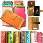 Artificial Crystal PU Wallet Case Cover for XGODY Smartphone (you choose model)