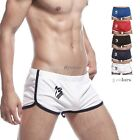 SEOBEAN Mens home pants Low Rise Sports Soft Running Training Shorts 5 colors
