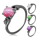 Hot Women Lady Euramerican Fashion Opal Wedding Banquet Party Ring New