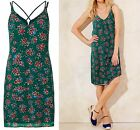 NEW CAPSULE MARISOTA GREEN RED BLUE FLORAL STRAPPY SUMMER SUN DRESS UK 12-18