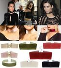 Ladies New Velvet Choker Necklace DollzKill Style Corset Fashion Jewellery