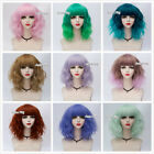 Внешний вид - 21 Colors Lolita Heat Resistant Curly Hair Ombre Anime Cosplay Wig With Bangs