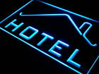 i247-b HOTEL OPEN Restaurant Room Lure Neon Light Sign