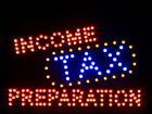 """nled082-r Income Tax Preparation LED Neon Sign 16"""" x 10"""""""