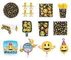 LOL Birthday PARTY NEW Tableware Balloons Decorations Supplies (Emoji,Face,Icon)