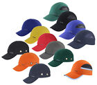 TITUS® BUMP CAP VENTED SAFETY HARD HAT SCALP HEAD PROTECTION MECHANIC BASEBALL