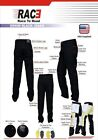New RAC3 Men Motorcycle Motorbike Denim Jeans Trouser Protective Armored Lining