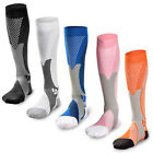 20-30 mmhg Sports Knee High Compression Socks for Running, Fitness,Crossfit S~XL