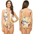 New Fashion Stylish Women Sexy One-Piece Bikini Print Swimwear Swimsuit N98B
