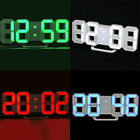 Modern Design Digital LED Wall Clock Alarm Watch 24/12 Hour Display Stereo Hot