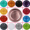 """BEADED CHARGER 13"""" PLATES 24 pcs Wedding Party Disposable TABLEWARE Decorations"""
