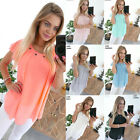 Kyпить UK Womens Summer Sleeveless T Shirts Ladies Casual Beach Tops Evening Blouse  на еВаy.соm