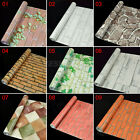 US Ship 45CM*10M 3D Wall Brick Stone Mural Self Adhesive PVC Wallpapers Stickers