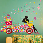 Girls Flower Removable Wall Decal Art Stickers Vinyl Mural Room Home Decor DIY
