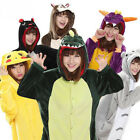 Adult Anime Kigurumi Pajamas Halloween Cosplay Costume Jumpsuit Sleepwear