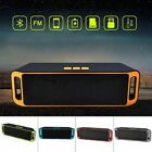 recharegable wireless bluetooth speaker portable outdoor usb tf fm radio stereo