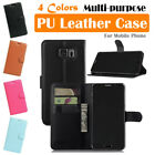 Samsung Galaxy Note 5 / SM-N920 Leather Case PSC Cover Skin Wallet Stand Folio