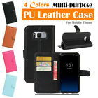 Samsung Galaxy S8+ / S8 Plus / SM-G955 Leather Case PSC Cover Skin Wallet Stand