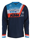 NEW 2018 TROY LEE DESIGNS GP AIR PRISMA KTM TEAM GOPRO JERSEY NAVY ALL SIZES