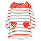 Baby Kid Floral Cotton Long Sleeves Casual Holiday Party Princess Dress 16Colors
