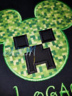 Personalized Creeper Gamer T-shirt machine embroidered