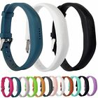 Silicone Wrist Band Strap Bracelet with Buckle for Fitbit Flex 2