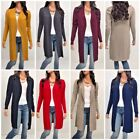 Women Cardigan Long Sleeve Solid Open Front Sweater  S, M, L,  XL (usa seller)