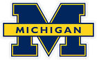 Michigan Wolverines Vinyl Sticker Decal *sizes* Cornhole Truck Carbumper