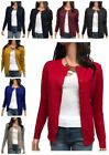 Women Cardigan Long Sleeve Solid Open Front Sweater  S, M, L, XL ,1XL, 2XL, 3XL