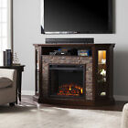 """Alcott Hill Montpelier Corner Convertible 52"""" TV Stand with Fireplace"""