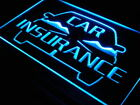 i150-b OPEN Car Insurance Services Displays Light Sign