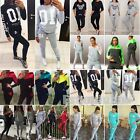 Women 2Pcs Tracksuit Hoodies Sweatshirt Pants Sets Sport Gym Wear Casual Suit US