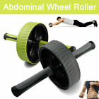AB Wheel ABS Abdominal Waist Roller Wheel Gym Exerciser Fitness Workout Exercise image