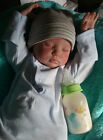 blue raspberry juice - 5 oz newborn Baby BOTTLE Reborn DOLL faux fake milk formula juice animal jungle