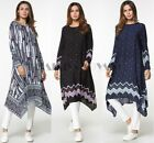 Women Loose Boho Shirt Dress Muslim Islamic Large Size Kaftan Abaya Maxi Dresses