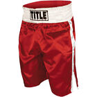 Внешний вид - Title Professional Boxing Trunks - Red/White