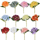 Bouquet Elegant Hydrangea Peony Silky Flower Floral Home Wedding Party Decor 1pc